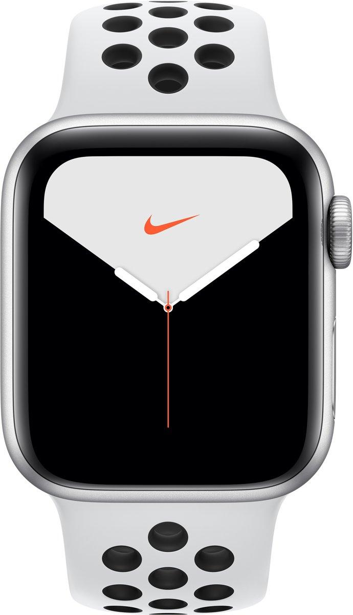 Apple Watch Series 5 Nike - Smartwatch - Zilver - 40mm