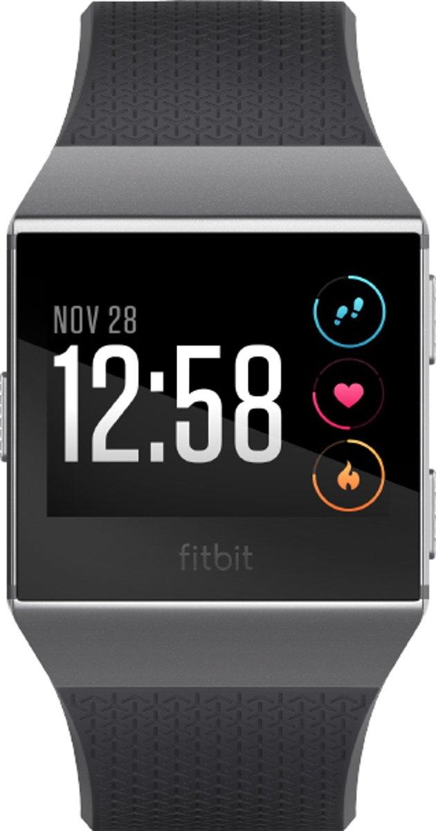 Fitbit Ionic - Smartwatch - Zwart/Grijs