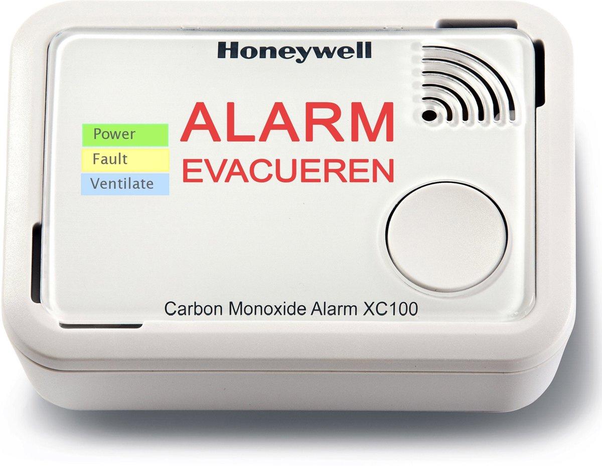 Honeywell Koolmonoxidemelder XC100 - 10 jaar accu - uitleesbaar met App - meet lage waarden