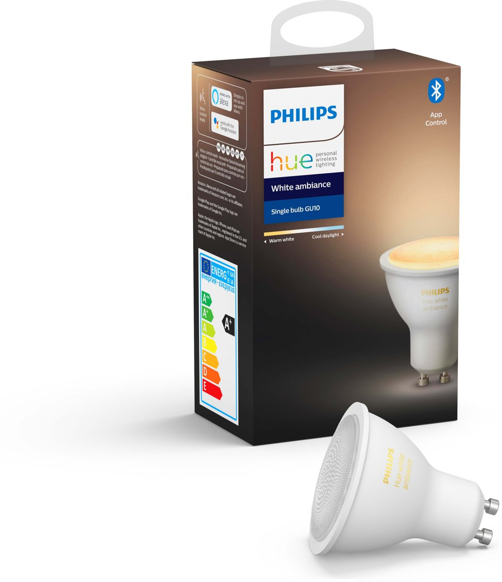 Philips Hue - White Ambiance - GU10 - losse lamp - Bluetooth