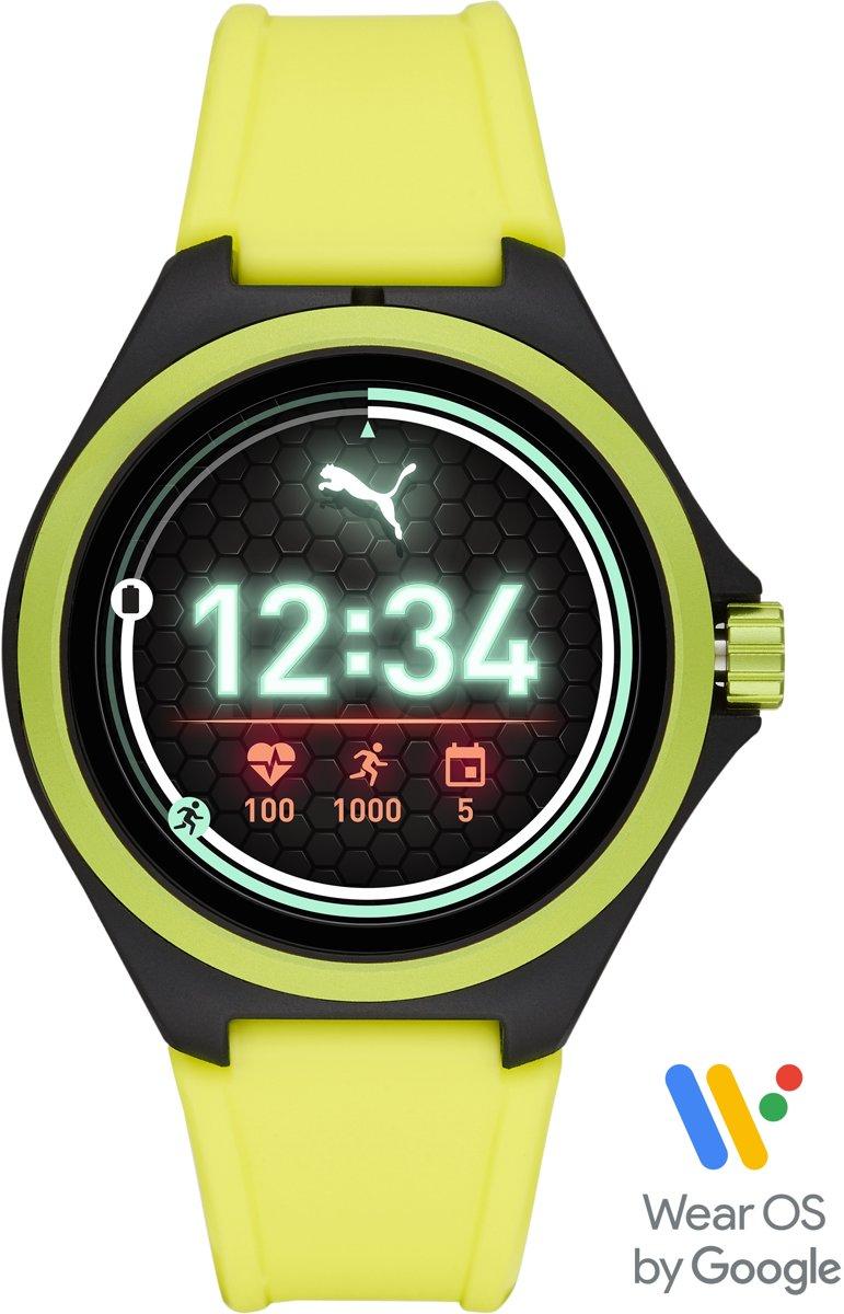 Puma Gen 4S Display Smartwatch PT9101 - Geel