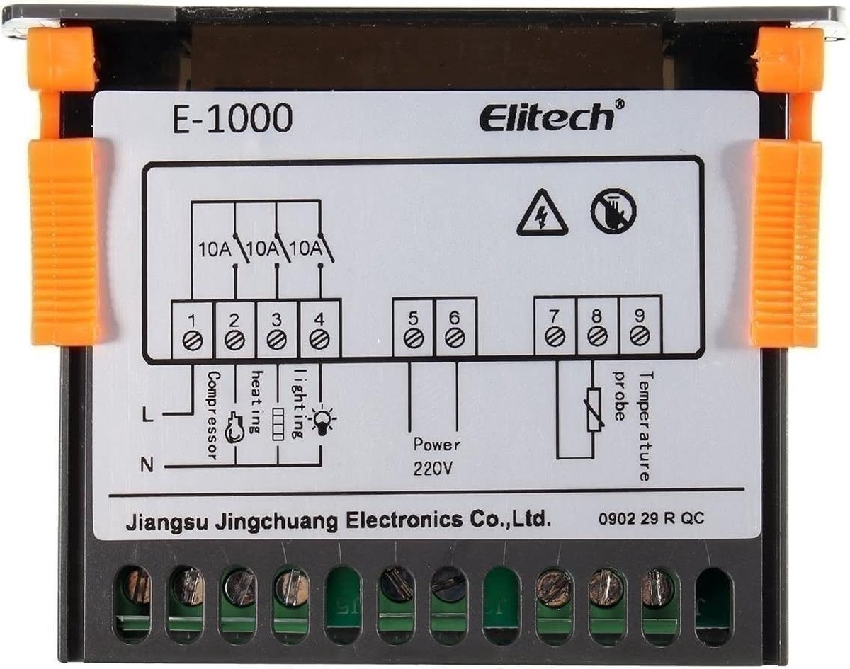 220V Touch Digitale LCD Temperatuur Controller Koel Verwarming Switch Thermostaat