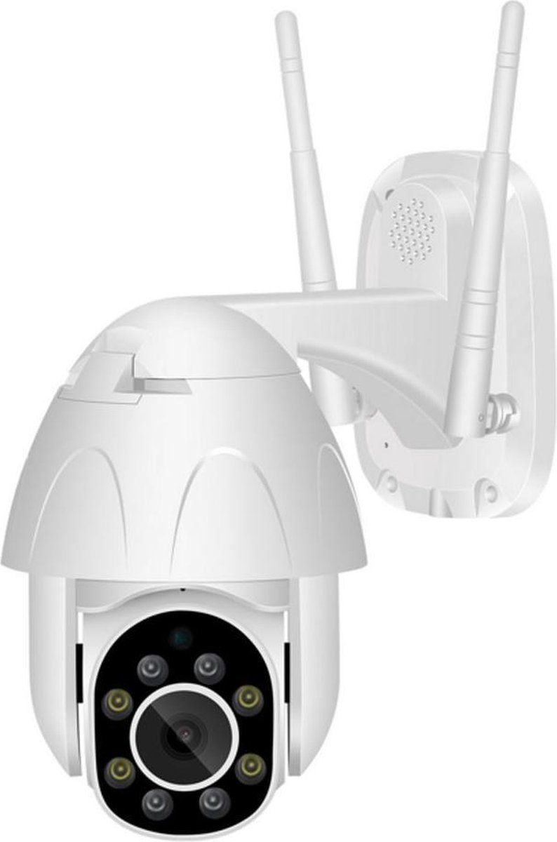 Tweeweg Audio WiFi Camera Buiten 1080P 2MP IP66 Speed Dome CCTV IR Cut Nachtzicht Surveillance Cloud Bewakingscamera