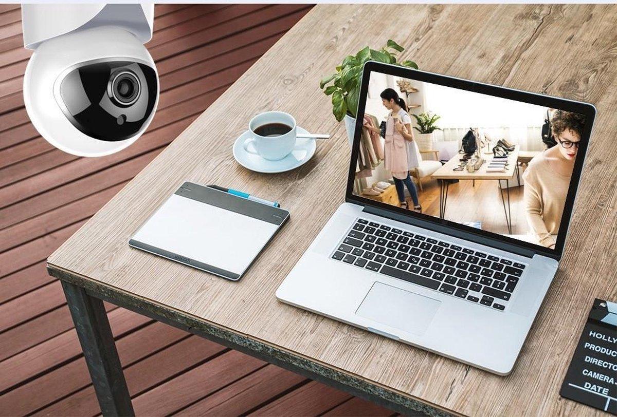 Babyfoon Met Camera En App - Haarscherp WiFi Security Camera - IOS en Android Besturing