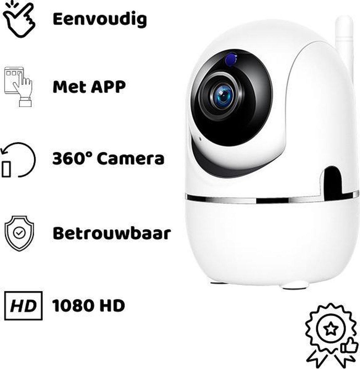 Babyfoon met camera - bediening met gratis app - maak overal verbinding met de babyfoon - babyfoon met camera en app