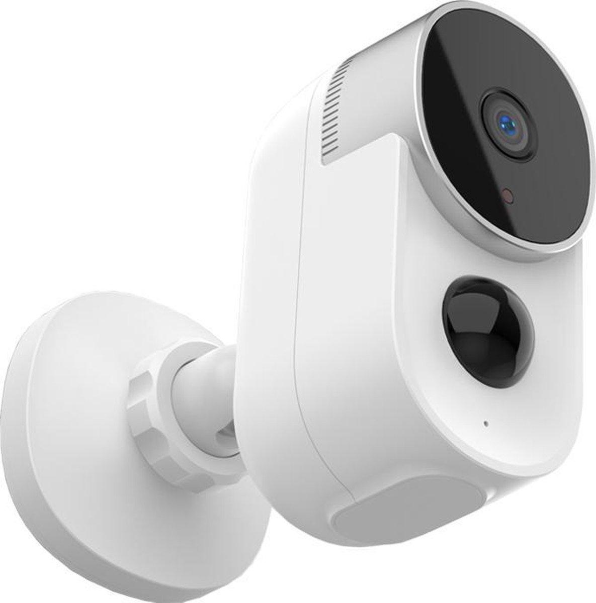 Mastersøn - Draadloze Beveiligingscamera - Accu - 10000mAh - Gratis App - Tuya - Alexa & Google - Waterdicht - IP Camera - Voor Binnen en Buiten - Wifi - Nachtzicht -