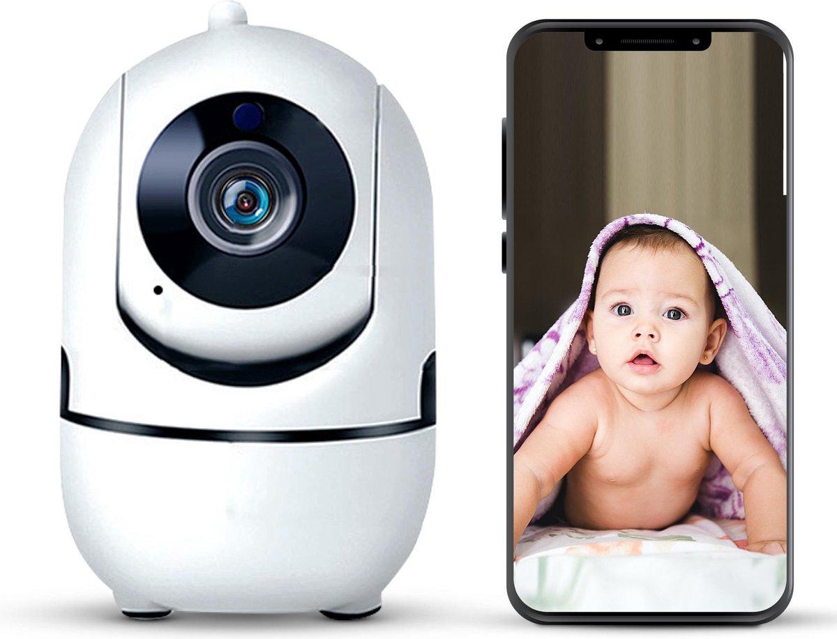 Babyfoon met camera babyfoon wifi camera beveiliging - Geluid bewegingsdetectie - Lyoto - Incl. lensschoonmaak doek